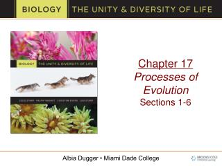 Chapter 17 Processes of Evolution Sections 1-6