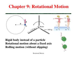 Chapter 9: Rotational Motion
