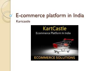e-commerce platform in India