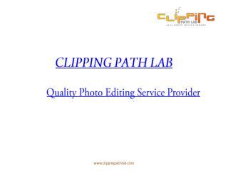Clipping Path Lab