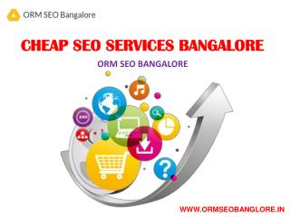 Cheap SEO Services Bangalore