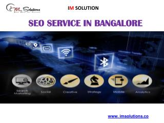 IM Solutions - Best Seo Company in Bangalore