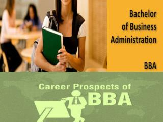 BBA Distance Education
