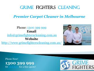 Best Carpet Cleaner in Melbourne