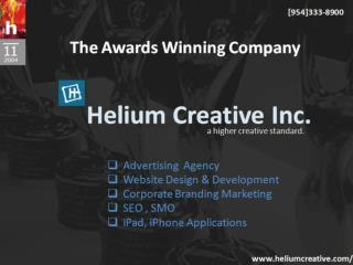 Helium creative an award winning company