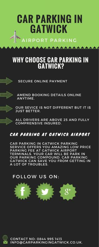 Car Parking in Gatwick