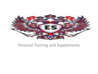 Personal Training and Supplements