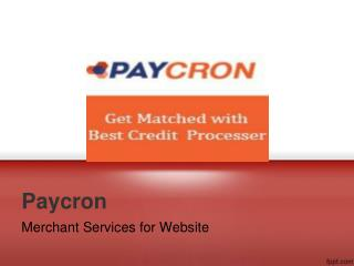 Secure Credit Card Processing & Merchant Services for Website