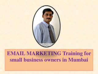 EMAIL MARKETING Training for small business owners in Mumbai