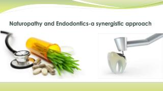 Naturopathy and endodontics a synergistic approach