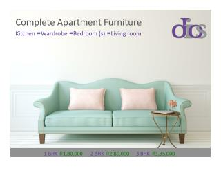 Apartment Furniture Design, Manufacturers & Suppliers by Dios