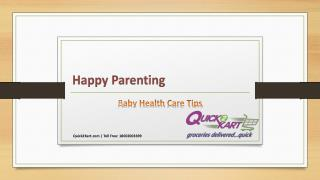 Baby Health Care Tips
