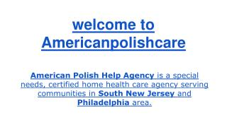 Disabled Care New Jersey, Senior Care New Jersey, Senior Care Philadelphia