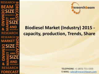 Biodiesel Market (Industry) 2015 - capacity, production, Trends, Share