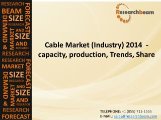 Cable Market (Industry) 2014  - capacity, production, Trends, Share