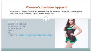 Women's Fashion Apparel