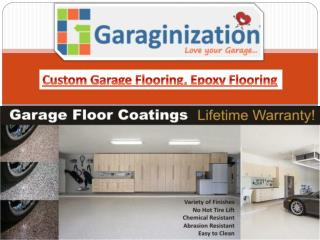 Custom Garage Flooring, Epoxy Flooring