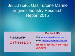 United States Gas Turbine Marine Engines Market 2015 Industry   Share, Overview, Forecast, Analysis, Growth, Research an