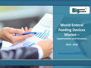 2020 Enteral Feeding Devices Market Worldwide