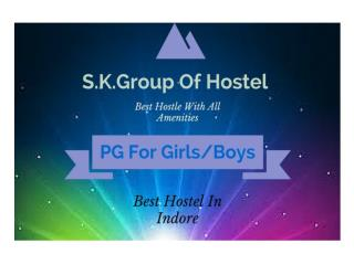 Girls Hostel in indore