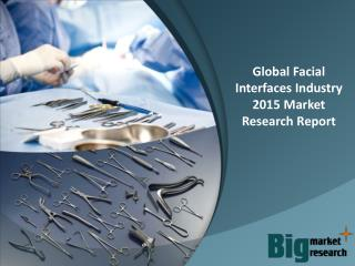 Global Facial Interfaces Industry 2015 - Market Size, Trends, Growth & Forecast