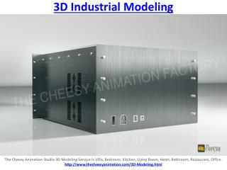 3D Industrial Modeling