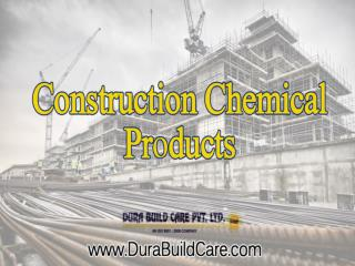 Construction Chemical Products Supplier