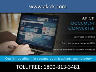 AKick | Free Download PDF to Excel Converter