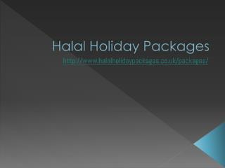 Muslim Holiday Packages