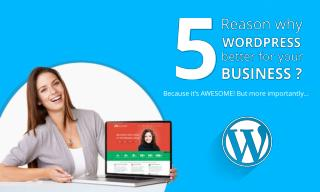5 Reason Why WordPress Better for Your Business