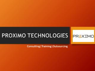 Proximo TechSoft Pvt Ltd