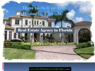#Fort Myers Real Estate Agency in FL