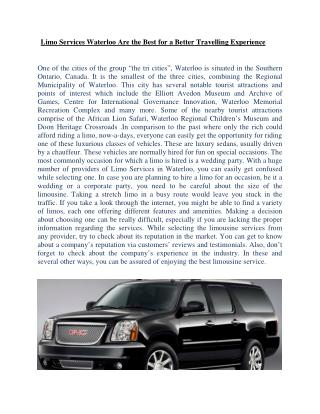 #Limousine Services Toronto #Stretch Limo Mississauga #Taxi Brampton#Drivers Oakville