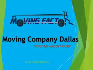 Moving company dallas