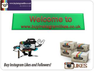 How Can you Gain Buy Instagram Likes and Followers UK