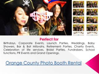 Photo Booth Orange County