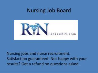Nursing Job Board