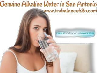 Genuine Alkaline Water in San Antonio