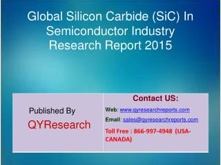 Global Silicon Carbide (SiC) In Semiconductor Market 2015 Industry Forecasts, Analysis, Applications, Research, Trends,