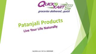 Patanjali Products Online