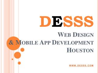 DESSS- Webdesign and Mobile App developmet