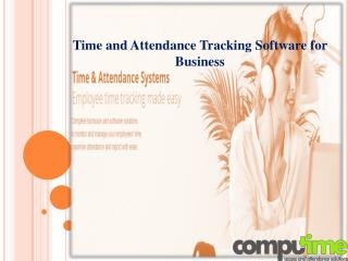 Time and Attendance Tracking Software for Business