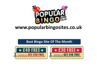Some of Our Top Most Popular Bingo Sites of The Month