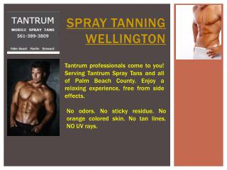 Spray Tan Palm Beach
