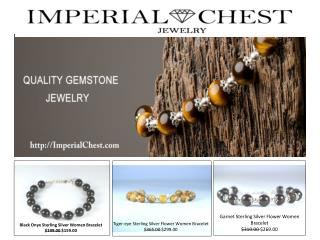 Quality Gemstone Jewelry- Imperial Chest Jewelry