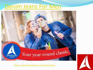 Designer Denim Jeans Shirts and T shirts for Men in India
