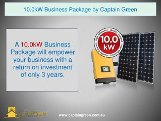 Solar Energy Packages Sydney (10.0kW)