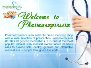 PharmaExpressrx.com - Online Medical Shop