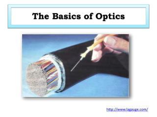 The Basics of Optics