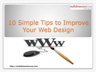10 Simple Tips to Improve Your Web Design